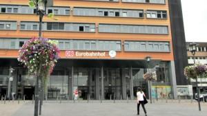 Der Eurobahnhof Saarbrücken Fernbus